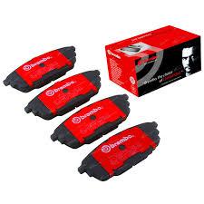 brembo rear disc brake pad set suits mazda 323 bj 1 8l 2 0l 1998