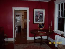 Dark Red Dining Room by Seeing Past The Ugly The Transforming Power Of Paint Revisions