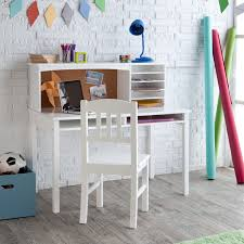 bedroom white computer desk with drawers for teen decorating