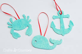 easy diy wooden anchor ornaments for