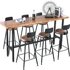 Narrow Kitchen Bar Table Narrow Bar Table Bar Table Home Solid Wood Partition Counter