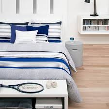 Light Blue Twin Comforter Shop Lacoste Auckland Blue Bed Covers The Home Decorating Company