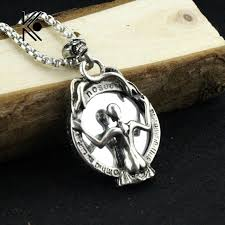 aliexpress buy new arrival cool charm vintage cool vintage skeleton magic mirror alloy pendant necklace men s