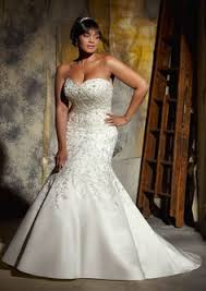 plus size fit and flare wedding dress plus size wedding dress 3194 alen on lace appliqu s and scalloped