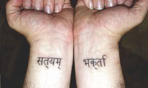 30 holy sanskrit tattoos creativefan