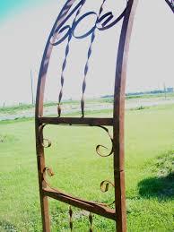 wrought iron sweetheart arbor 7 u0027 tall metal arch