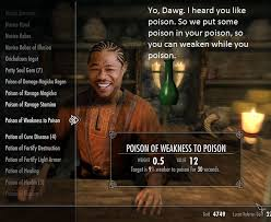 Yo Dawg Know Your Meme - 19 things only rpg nerds will find funny skyrim video games and