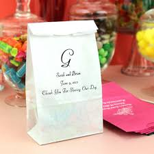 personalized cotton candy bags wedding favor candy bags cotton candy bags weddings wedding favor
