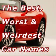 mustang car names the best worst weirdest car names