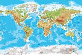 France Physical Map by Physical Map Of The World My Blog
