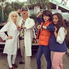 Doc Halloween Costume Doc Brown Marty Mcfly Jennifer Parker Doc Brown Marty