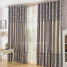 Striped Linen Curtains Adorable European Style Striped Floral Linen Curtains Uk Style