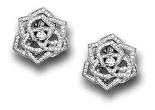 piaget earrings the magic of piaget scented garden collection high