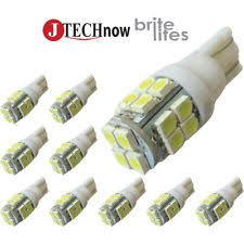 led light bulbs for cars 12v led bulb t10 ebay