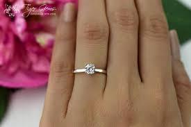 2 carat solitaire engagement rings 1 2 carat classic solitaire engagement ring cut made