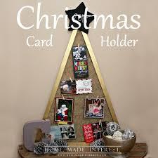 diy christmas card holder home made interest