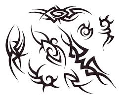 simple tribal henna designs religious wording tattoos