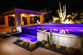 Vista Landscape Lighting by Desert Foothills Landscape Specializing In Custom Desert Landscapes