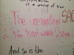 Wall Writing Bathroom Poetry The Blog Of Teresa