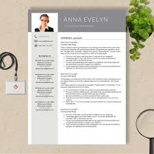 Reference Page Resume Template Cv Template With Cover Letter And References Page No 013 013