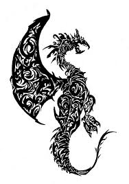 37 tribal dragons sticker design inspiration uprinting