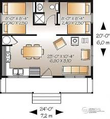 small 2 bedroom cabin plans house plan w1904 detail from drummondhouseplans