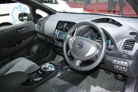 nissan pakistan nissan leaf aero style interiors indian autos blog