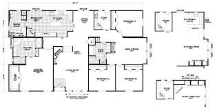 manufactured homes floor plans triple wide manufactured homes floor plans factory select mobile 15