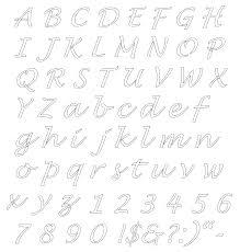 free online alphabet templates stencils free printable