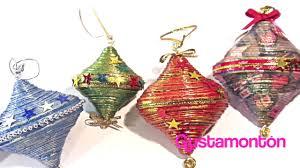 diy paper christmas decorations adornos de navidad youtube