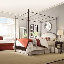 antique canopy bed homesullivan bridgewater antique bronze queen canopy bed 40e638bq