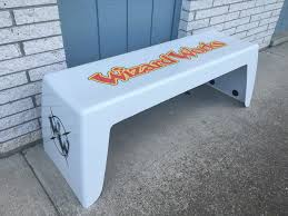 triad athletic benches vpc fiberglass virtual polymer compounds
