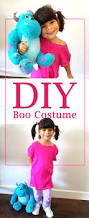 Monsters Inc Costumes Boo Costume Easy Diy No Sew Boo Costume For This Halloween