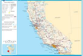 map of california california map blank political california map with cities