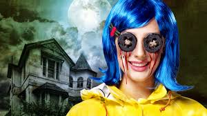 coraline halloween makeup tutorial
