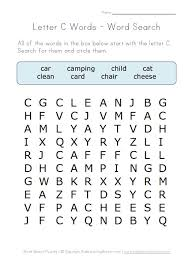 5 letter c words worksheets letter c word app and remains a