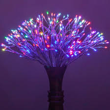 starburst lighted branches with multicolor led twinkle lights 1 pc