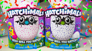hatchimals unboxing birthday toys for eggs
