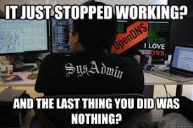 Admin Meme - system admin memes webroot community