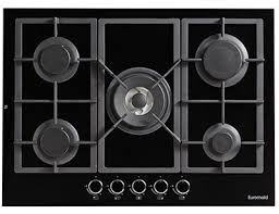 Harvey Norman Ovens And Cooktops Euromaid Black Ceramic Glass 700mm Gas Cooktop Harvey Norman