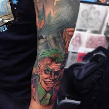 joker sleeve tattoo tattoo collections
