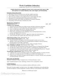 skill for resume exles customer service skills resume exle excellent resume sle