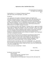 Types Of Business Letter With Examples block letter format sample letter in block format