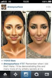 contour and highlight on contouring highlighting makeup contours
