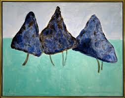 milton avery dancing trees oil on canvas