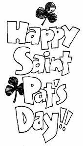saint patrick u0027s coloring pages