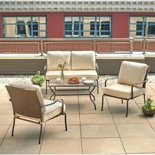 Wicker Patio Conversation Sets Paxton Place 5 Piece Patio Conversation Set With Fire Pit Patio