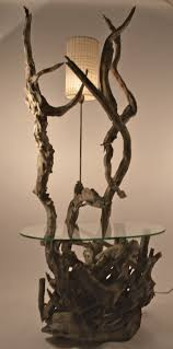large driftwood lamp table or floor lamp for sale at 1stdibs large driftwood lamp table or floor lamp 2