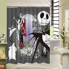 Nightmare Before Christmas Bedroom Stuff Waterproof Halloween Shower Curtain Nightmare Before Christmas