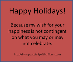 why i stopped saying merry living peacefully with children